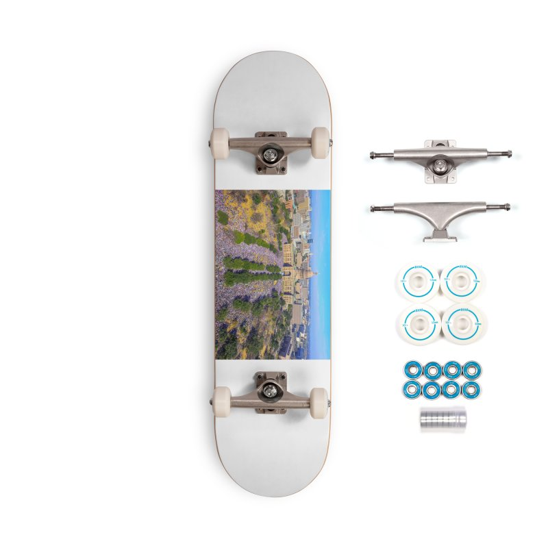 Capitol Women's March / Custom Merchandise / Aerial Photography Accessories Complete - Basic Skateboard by Holp Photography Artist Shop