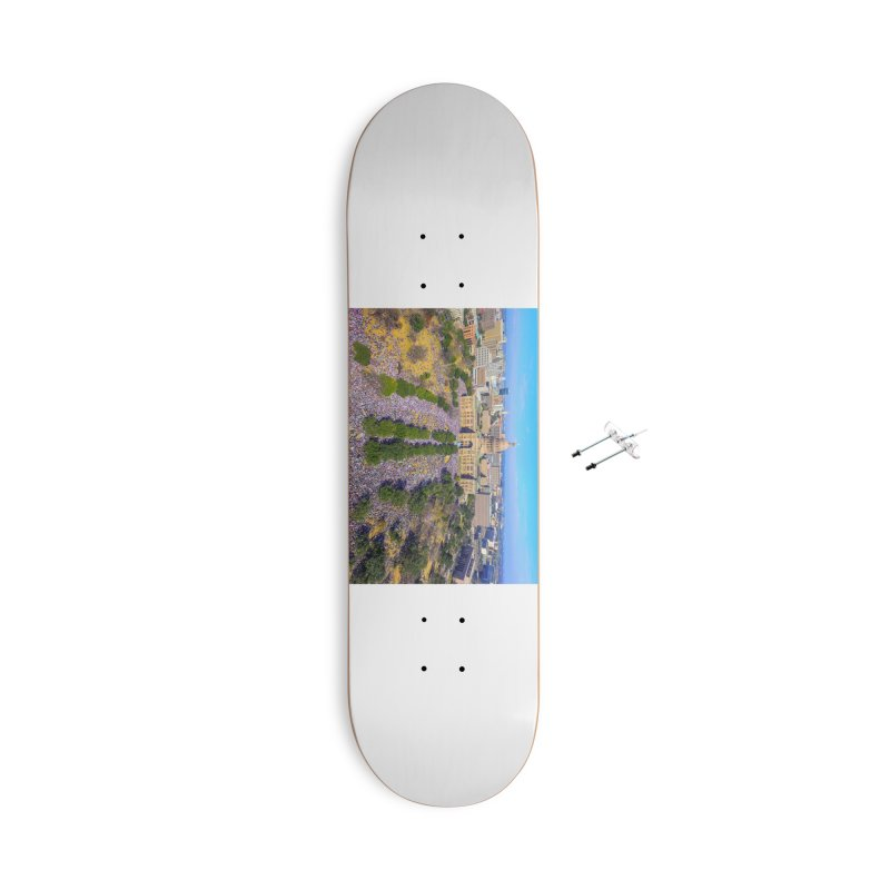 Capitol Women's March / Custom Merchandise / Aerial Photography Accessories With Hanging Hardware Skateboard by Holp Photography Artist Shop