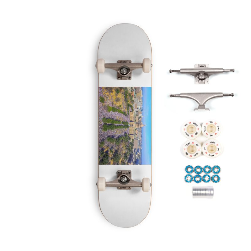 Capitol Women's March / Custom Merchandise / Aerial Photography Accessories Complete - Premium Skateboard by Holp Photography Artist Shop