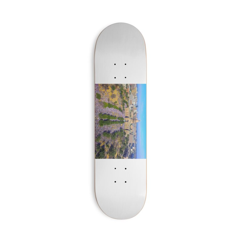 Capitol Women's March / Custom Merchandise / Aerial Photography Accessories Deck Only Skateboard by Holp Photography Artist Shop