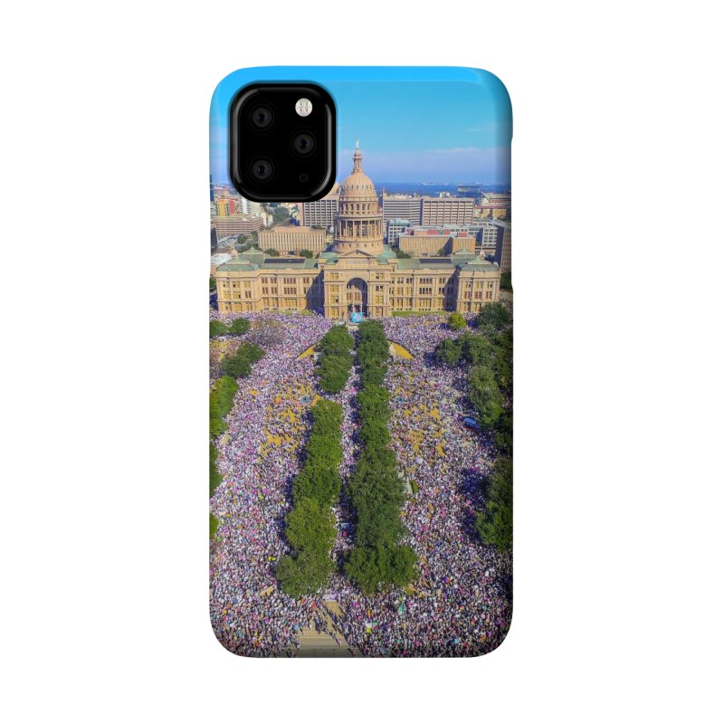 Capitol Women's March / Custom Merchandise / Aerial Photography Accessories Phone Case by Holp Photography Artist Shop