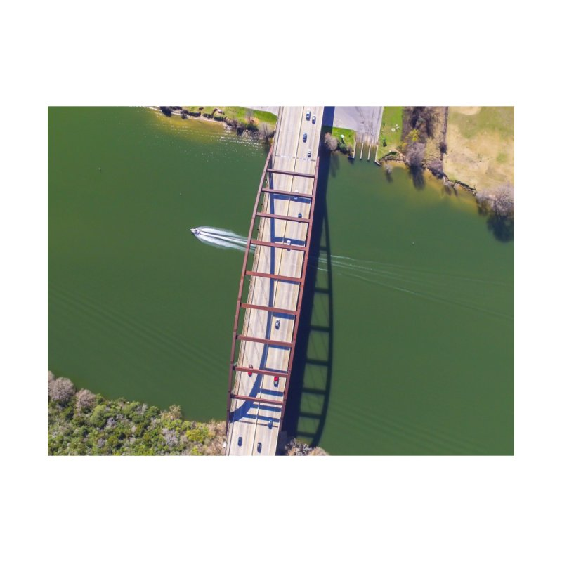 Over Pennybacker Bridge / Custom Merchandise / Aerial Photography by Holp Photography Artist Shop