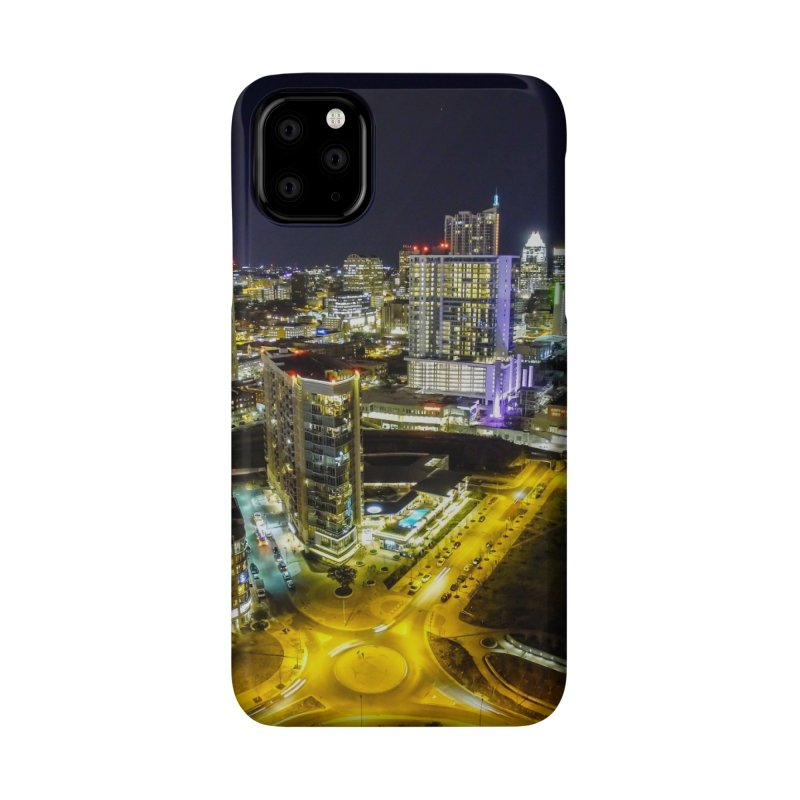 Austin Night Skyline / Custom Merchandise / Aerial Photography Accessories Phone Case by Holp Photography Artist Shop