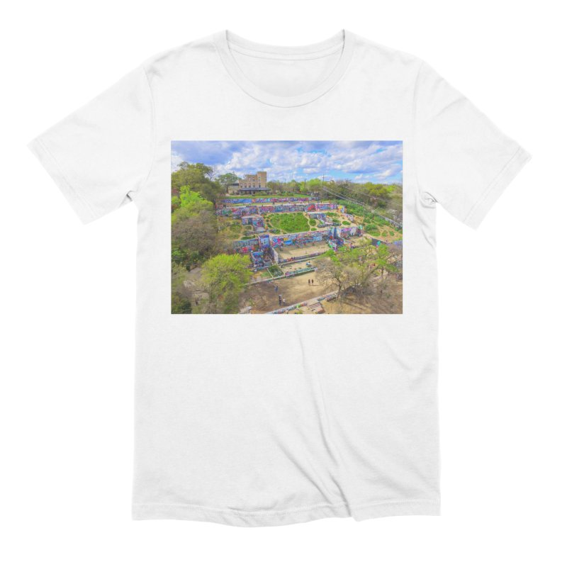 Hope Outdoor Gallery / Custom Merchandise / Aerial Photography Men's Extra Soft T-Shirt by Holp Photography Artist Shop
