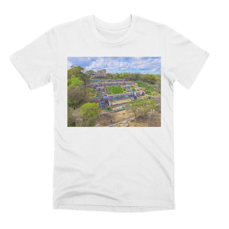 Hope Outdoor Gallery / Custom Merchandise / Aerial Photography Men's Premium T-Shirt by Holp Photography Artist Shop
