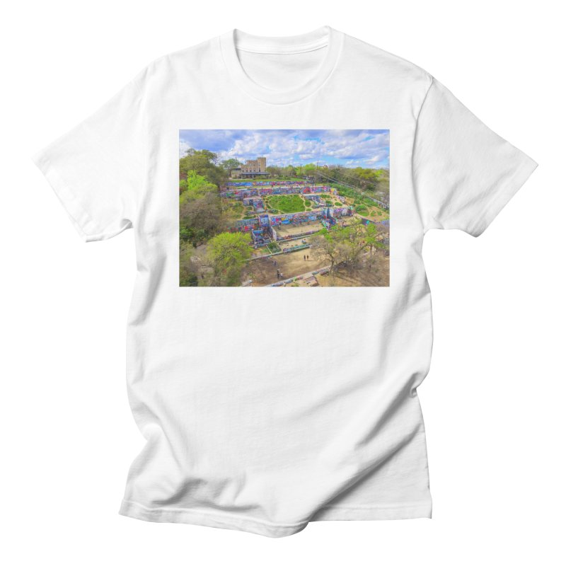 Hope Outdoor Gallery / Custom Merchandise / Aerial Photography Men's T-Shirt by Holp Photography Artist Shop