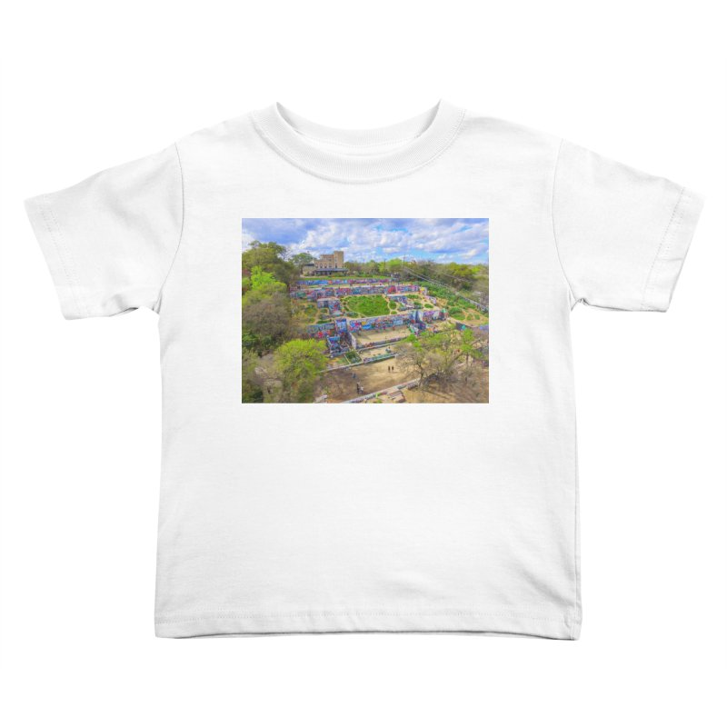 Hope Outdoor Gallery / Custom Merchandise / Aerial Photography Kids Toddler T-Shirt by Holp Photography Artist Shop