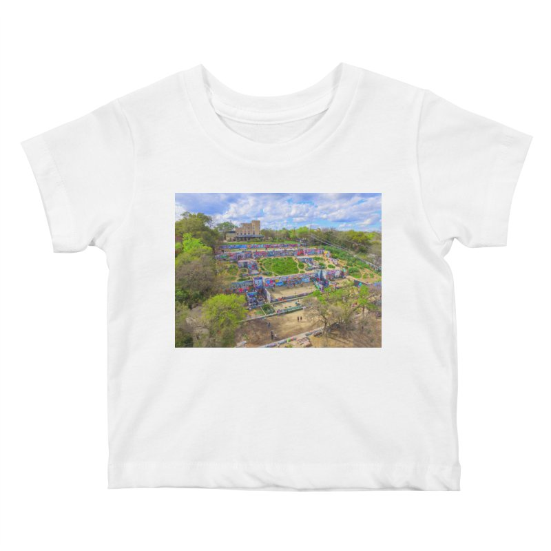 Hope Outdoor Gallery / Custom Merchandise / Aerial Photography Kids Baby T-Shirt by Holp Photography Artist Shop