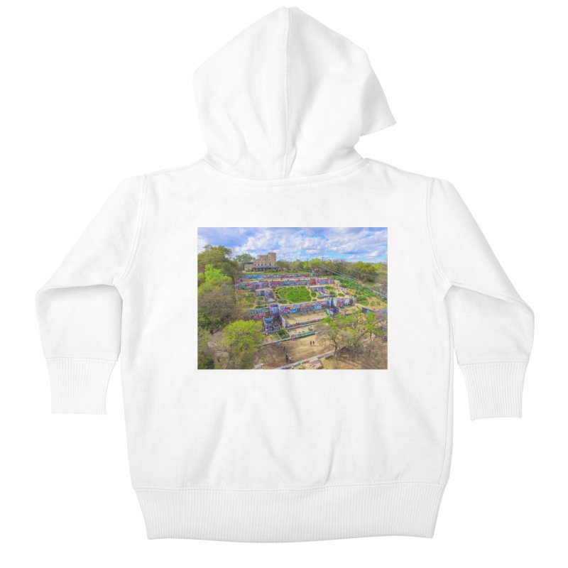 Hope Outdoor Gallery / Custom Merchandise / Aerial Photography Kids Baby Zip-Up Hoody by Holp Photography Artist Shop