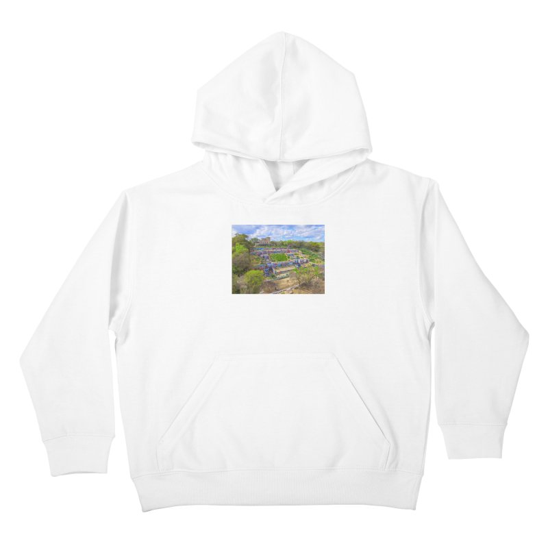 Hope Outdoor Gallery / Custom Merchandise / Aerial Photography Kids Pullover Hoody by Holp Photography Artist Shop