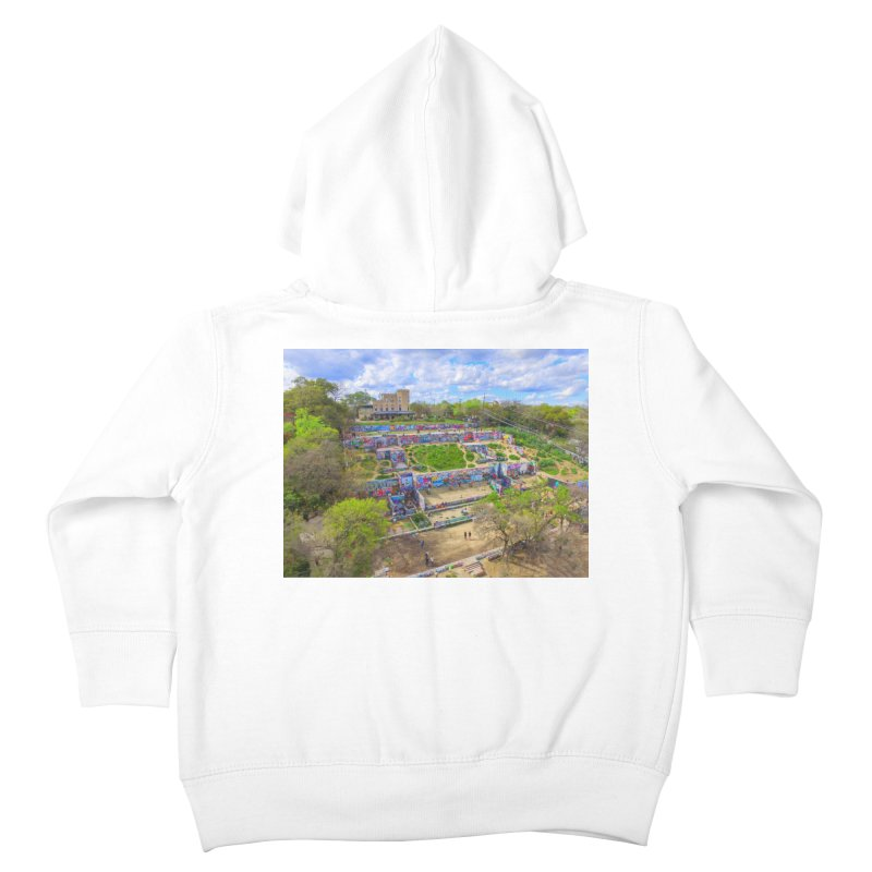 Hope Outdoor Gallery / Custom Merchandise / Aerial Photography Kids Toddler Zip-Up Hoody by Holp Photography Artist Shop