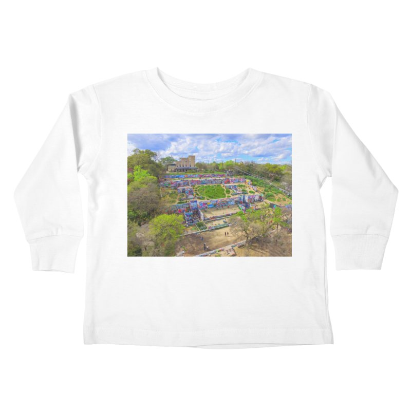 Hope Outdoor Gallery / Custom Merchandise / Aerial Photography Kids Toddler Longsleeve T-Shirt by Holp Photography Artist Shop