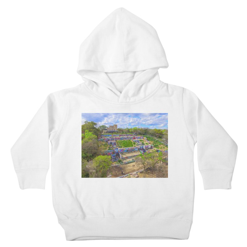 Hope Outdoor Gallery / Custom Merchandise / Aerial Photography Kids Toddler Pullover Hoody by Holp Photography Artist Shop
