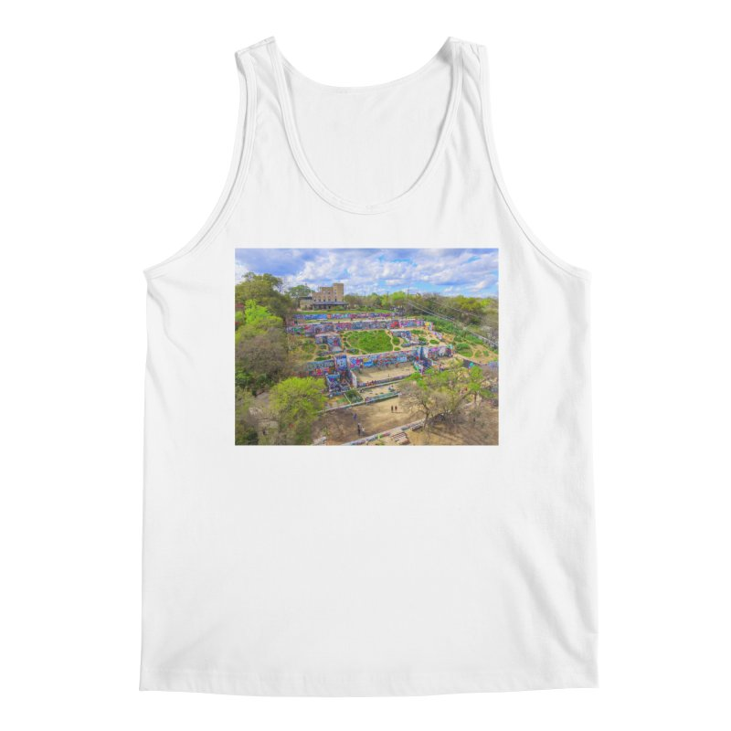 Hope Outdoor Gallery / Custom Merchandise / Aerial Photography Men's Regular Tank by Holp Photography Artist Shop
