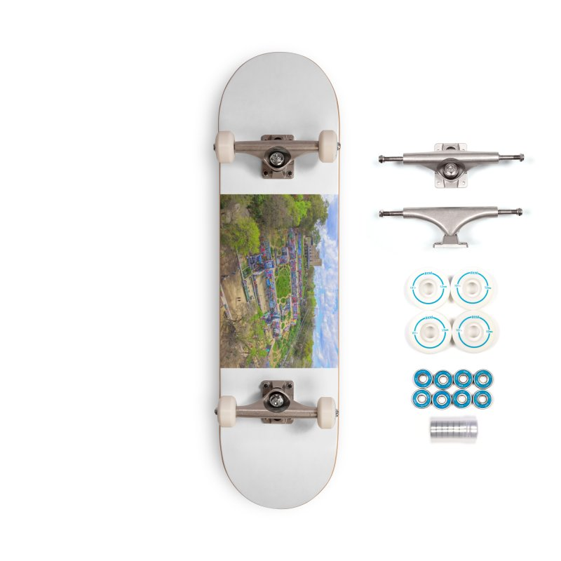 Hope Outdoor Gallery / Custom Merchandise / Aerial Photography Accessories Complete - Basic Skateboard by Holp Photography Artist Shop