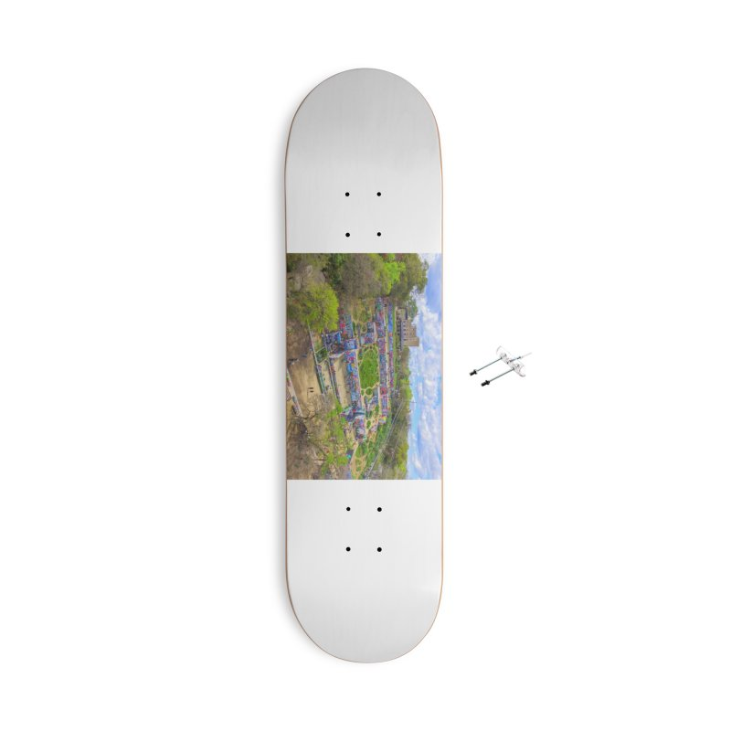 Hope Outdoor Gallery / Custom Merchandise / Aerial Photography Accessories With Hanging Hardware Skateboard by Holp Photography Artist Shop