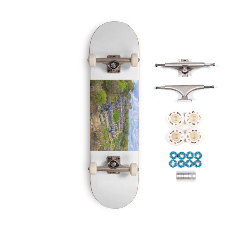 Hope Outdoor Gallery / Custom Merchandise / Aerial Photography Accessories Complete - Premium Skateboard by Holp Photography Artist Shop