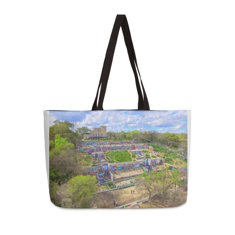 Hope Outdoor Gallery / Custom Merchandise / Aerial Photography Accessories Weekender Bag Bag by Holp Photography Artist Shop