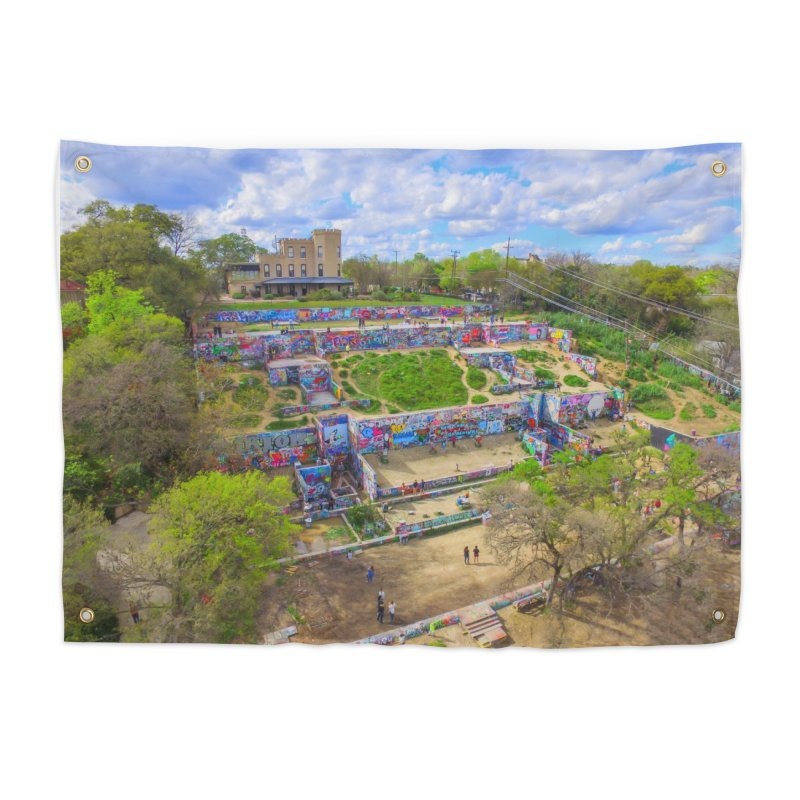 Hope Outdoor Gallery / Custom Merchandise / Aerial Photography Home Tapestry by Holp Photography Artist Shop