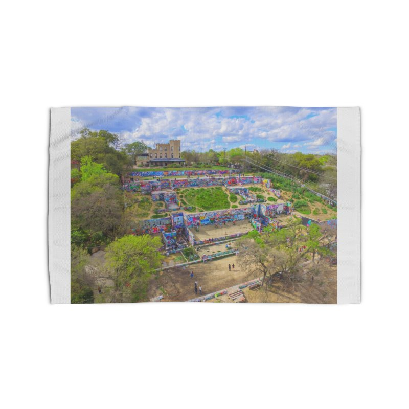 Hope Outdoor Gallery / Custom Merchandise / Aerial Photography Home Rug by Holp Photography Artist Shop