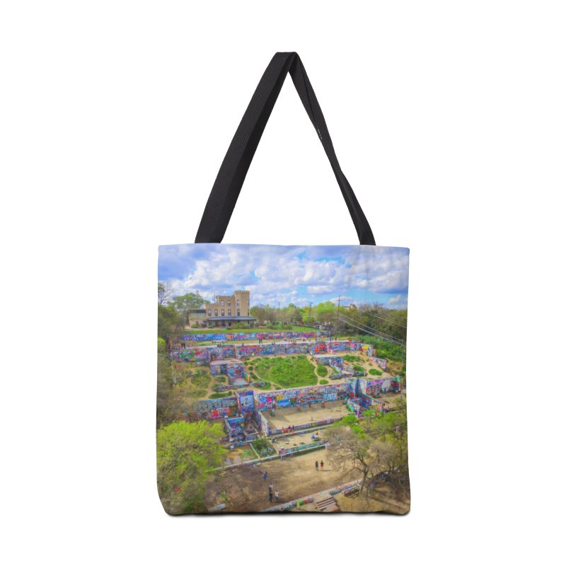 Hope Outdoor Gallery / Custom Merchandise / Aerial Photography Accessories Tote Bag Bag by Holp Photography Artist Shop