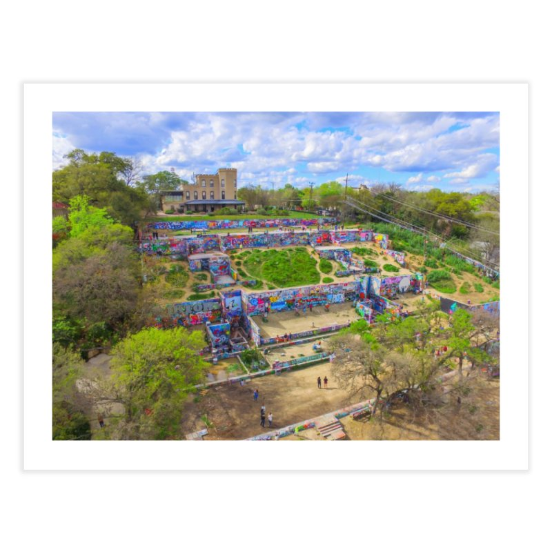 Hope Outdoor Gallery / Custom Merchandise / Aerial Photography Home Fine Art Print by Holp Photography Artist Shop
