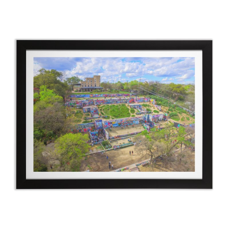 Hope Outdoor Gallery / Custom Merchandise / Aerial Photography Home Framed Fine Art Print by Holp Photography Artist Shop