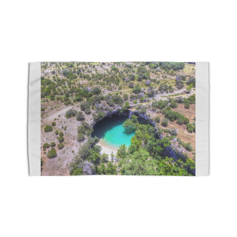 Hamilton Pool / Custom Merchandise / Aerial Photography Home Rug by Holp Photography Artist Shop