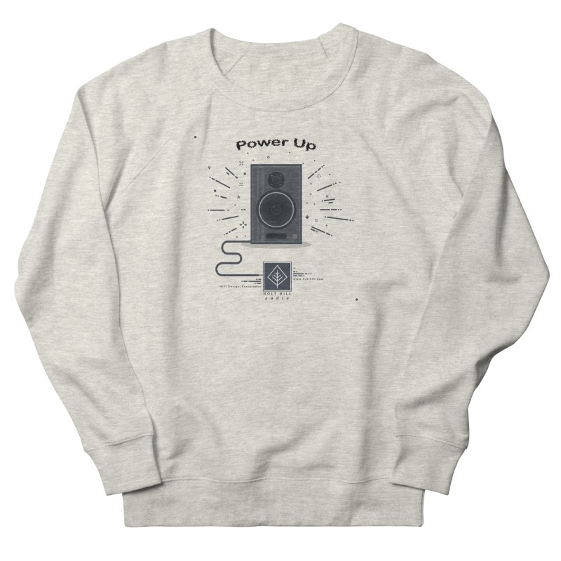 HHA Power Up Logo Men's Sweatshirt by Holt Hill Audio, LLC - Elevating Your Sound
