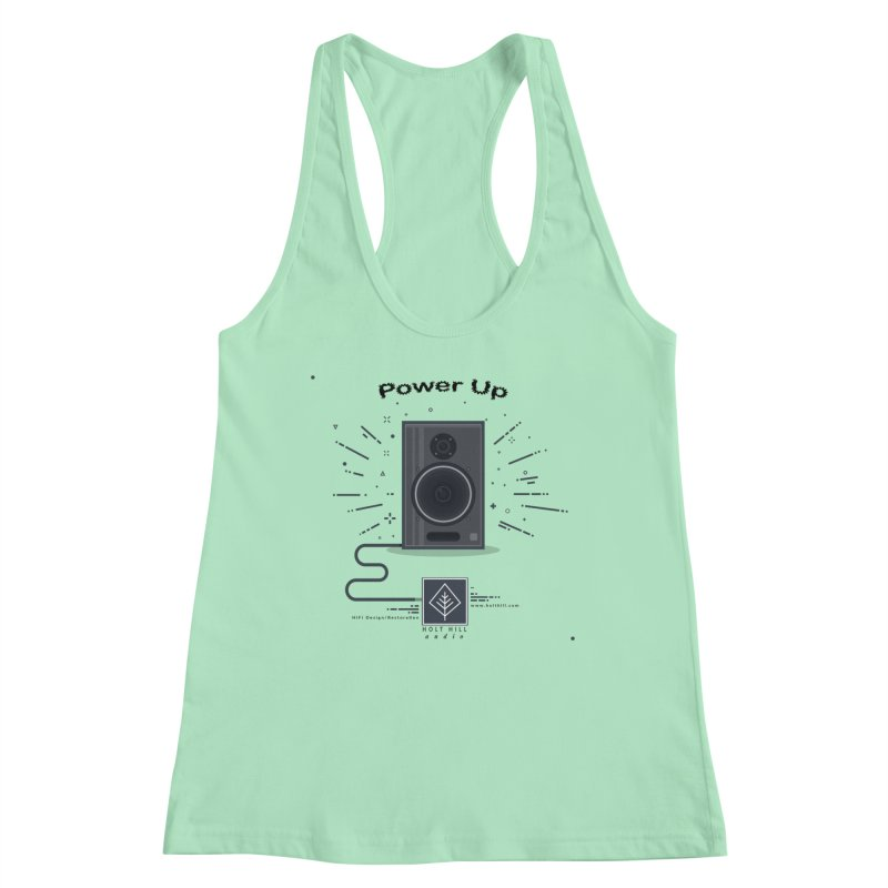 HHA Power Up Logo Women's Tank by Holt Hill Audio, LLC - Elevating Your Sound