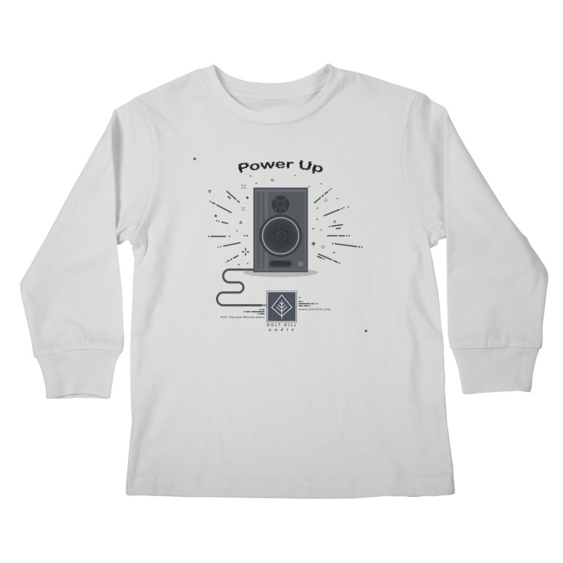 HHA Power Up Logo Kids Longsleeve T-Shirt by Holt Hill Audio, LLC - Elevating Your Sound