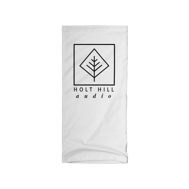 HHA Basic Logo Black Accessories Neck Gaiter by Holt Hill Audio, LLC - Elevating Your Sound