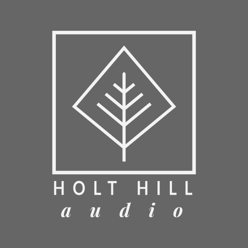 HHA Basic Logo White Home Throw Pillow by Holt Hill Audio, LLC - Elevating Your Sound