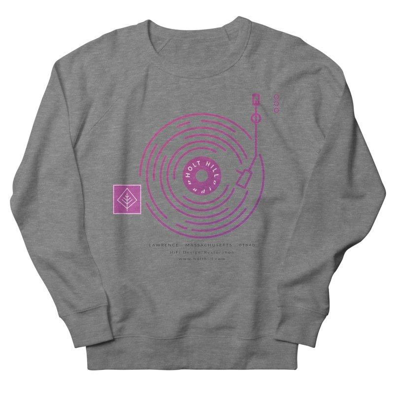 HHA Record Logo Dark Women's Sweatshirt by Holt Hill Audio, LLC - Elevating Your Sound
