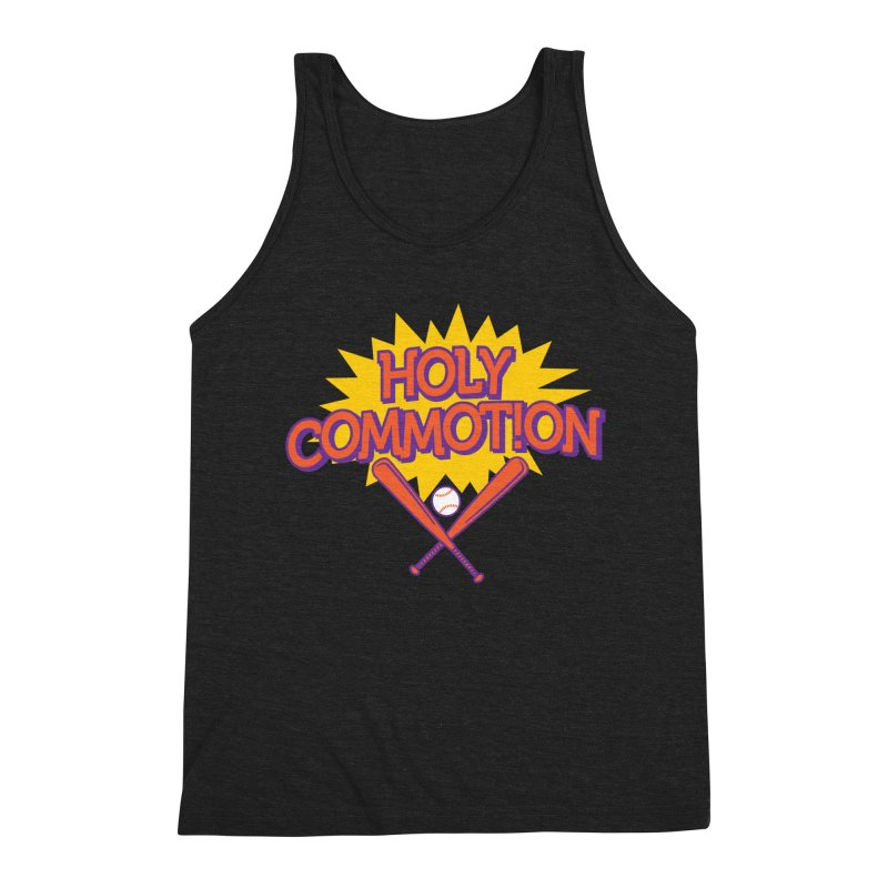 Holy Commotion - Softball Team Shirts Men's Triblend Tank by Holy Communion's Artist Shop