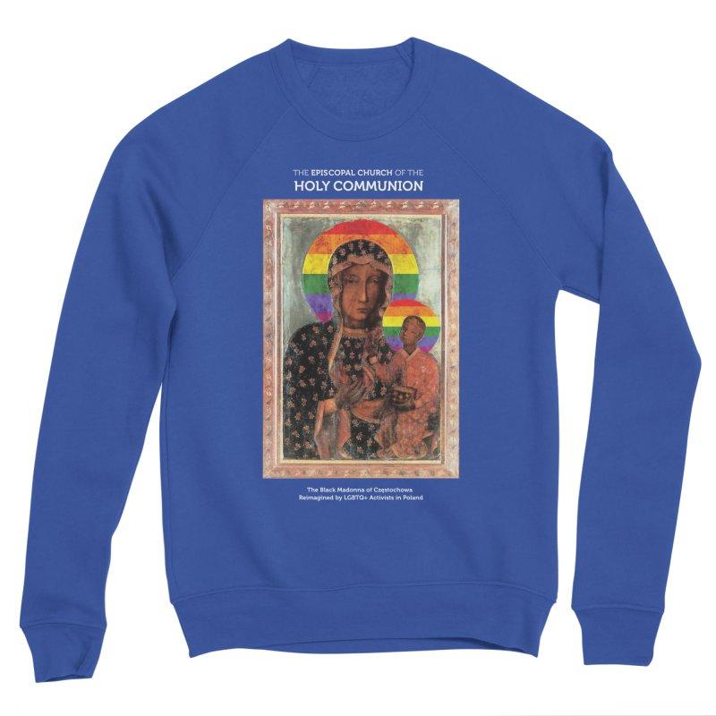 The Black Madonna of Częstochowa Men's Sponge Fleece Sweatshirt by Holy Communion's Artist Shop
