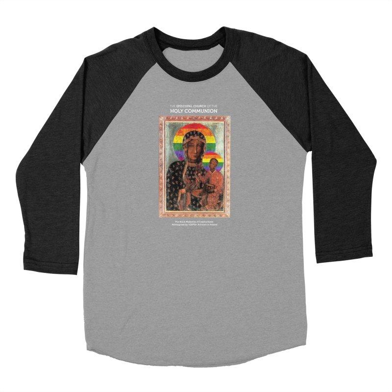 The Black Madonna of Częstochowa Women's Longsleeve T-Shirt by Holy Communion's Artist Shop
