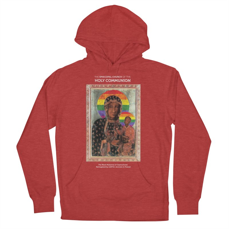 The Black Madonna of Częstochowa Women's French Terry Pullover Hoody by Holy Communion's Artist Shop