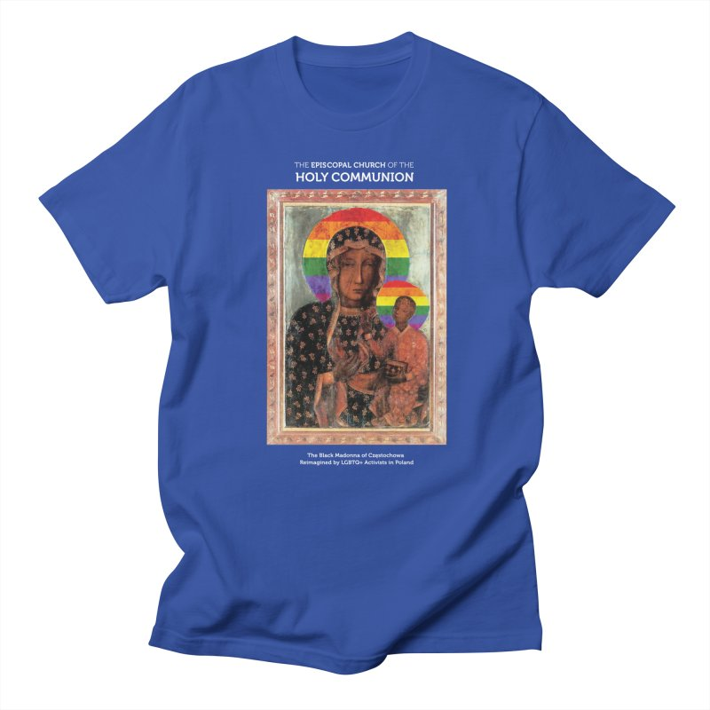 The Black Madonna of Częstochowa Women's Regular Unisex T-Shirt by Holy Communion's Artist Shop