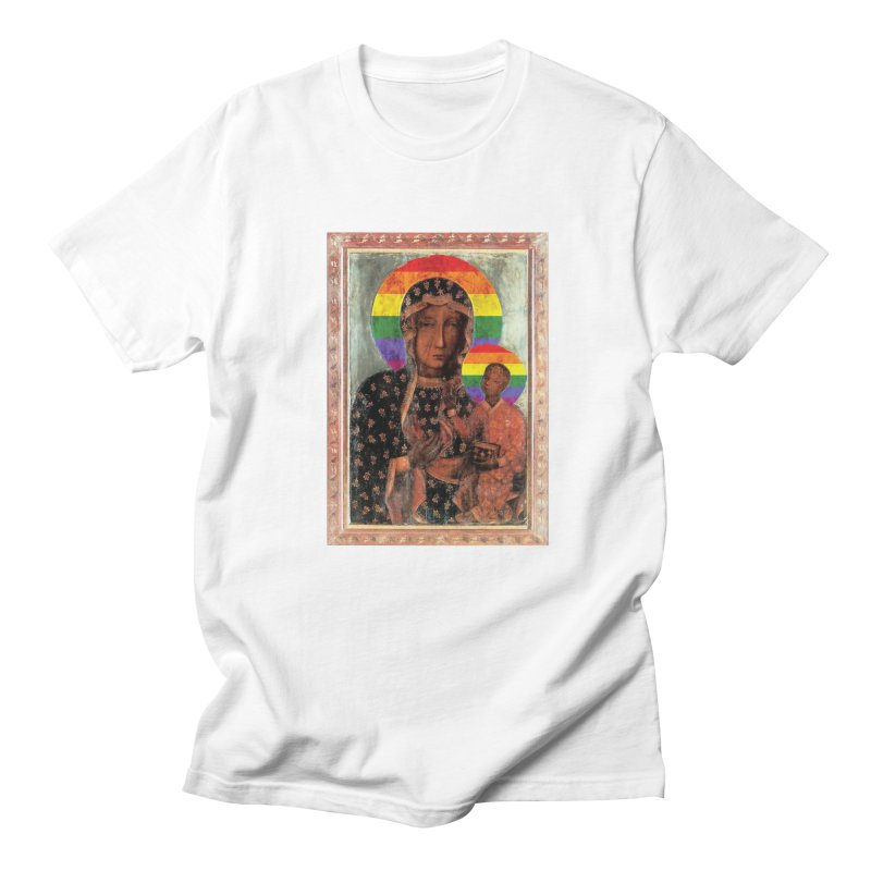 The Black Madonna of Częstochowa Women's Regular Unisex T-Shirt by Holy Communion's Artist Shop