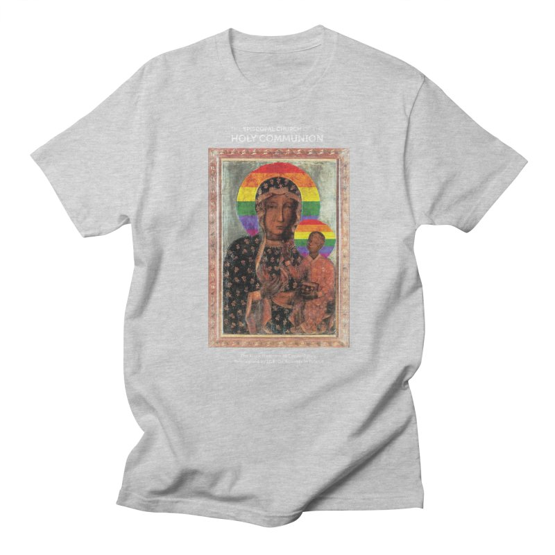 The Black Madonna of Częstochowa Men's Regular T-Shirt by Holy Communion's Artist Shop