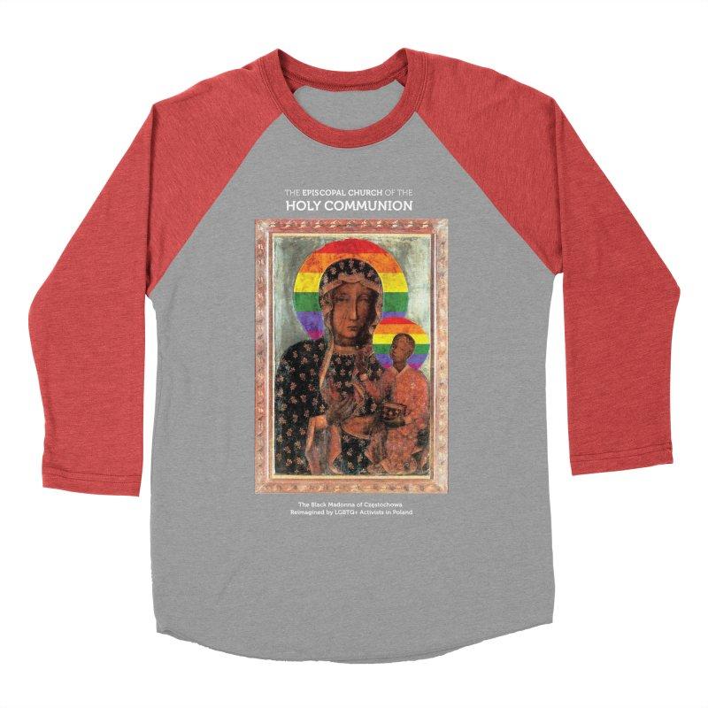 The Black Madonna of Częstochowa Men's Longsleeve T-Shirt by Holy Communion's Artist Shop
