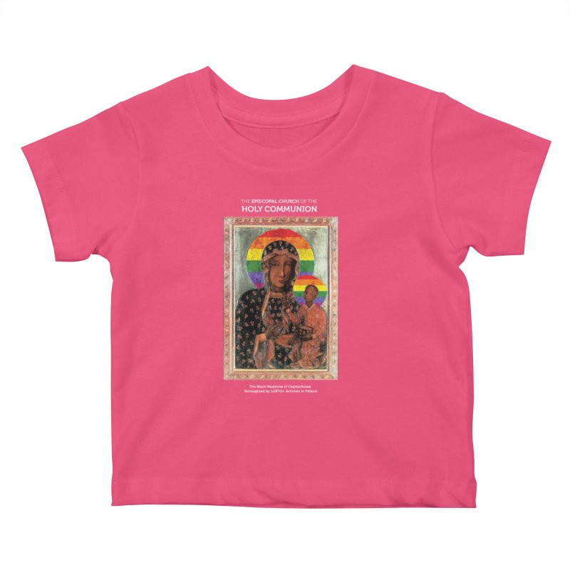 The Black Madonna of Częstochowa Kids Baby T-Shirt by Holy Communion's Artist Shop