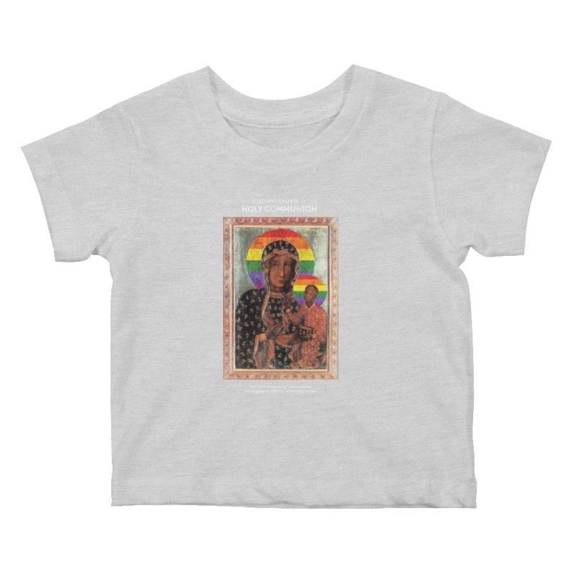 The Black Madonna of Częstochowa Kids Baby T-Shirt by Holy Communion's Artist Shop