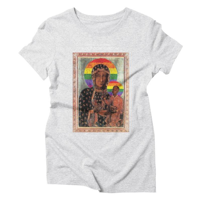 The Black Madonna of Częstochowa Women's T-Shirt by Holy Communion's Artist Shop
