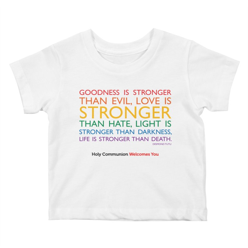Tutu Quote for Light Colors Kids Baby T-Shirt by Holy Communion's Artist Shop