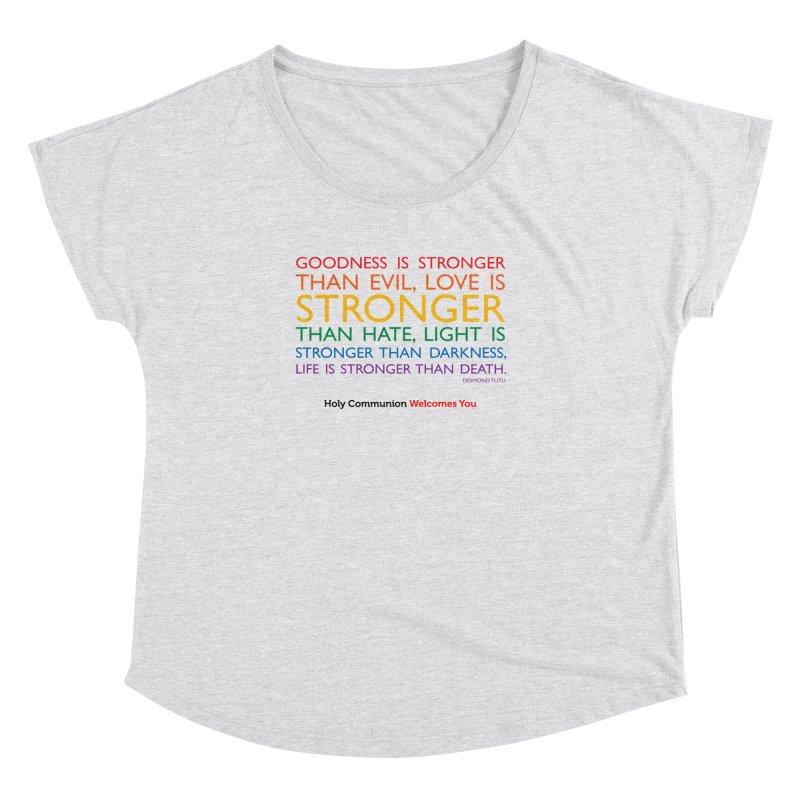Tutu Quote for Light Colors Women's Dolman Scoop Neck by Holy Communion's Artist Shop
