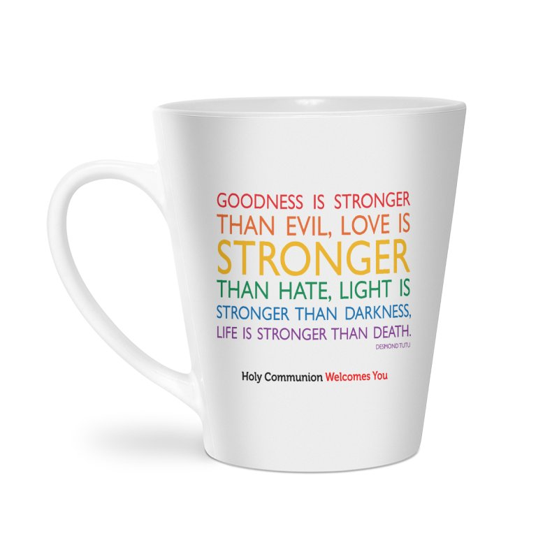 Tutu Quote for Light Colors Accessories Latte Mug by Holy Communion's Artist Shop