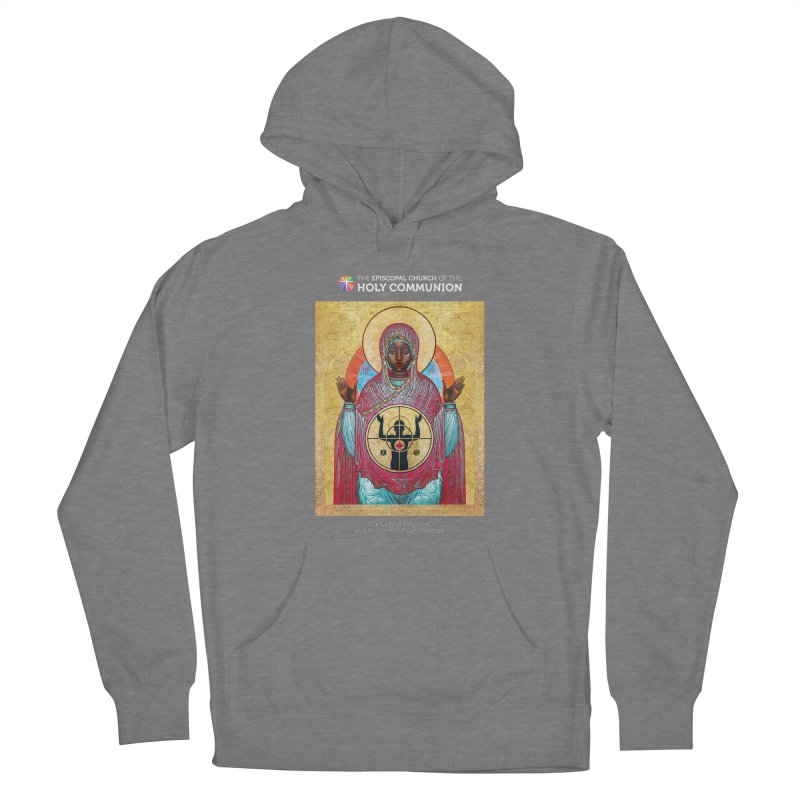 Our Lady Gun Violence Shirt Women's Pullover Hoody by Holy Communion's Artist Shop