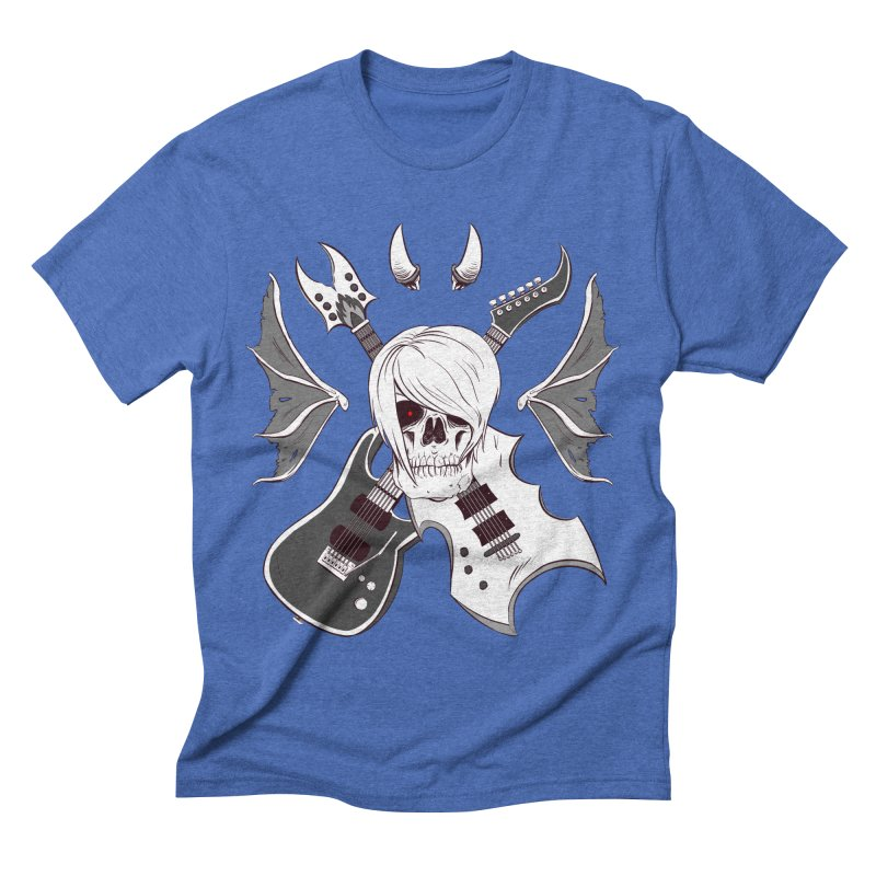 Skull & Guitars (B&W) by Holyengine   by Holyengine's Shop